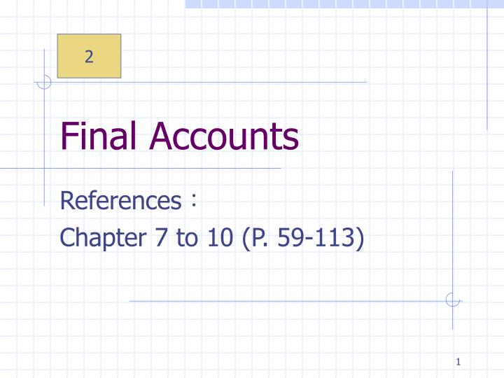 PPT Final Accounts PowerPoint Presentation ID 3859001