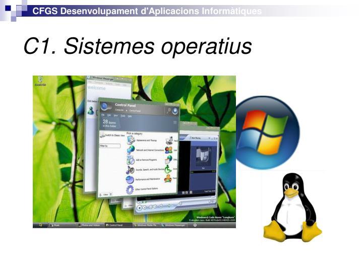 C1. Sistemes operatius