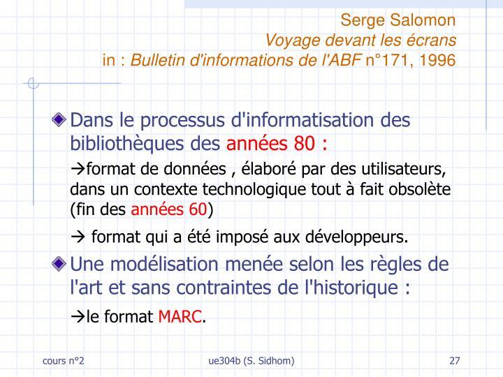 Serge Salomon