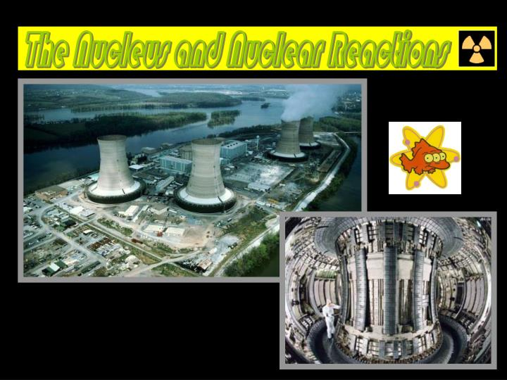 The Nucleus and Nuclear Reactions