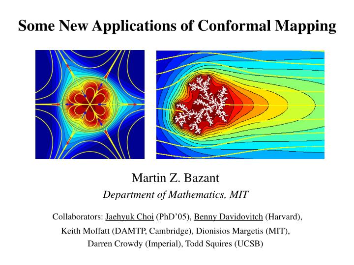 Some new applications of conformal mapping