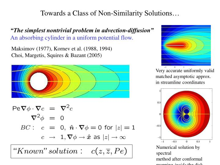 Towards a Class of Non-Similarity Solutions…