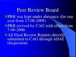 peer review board