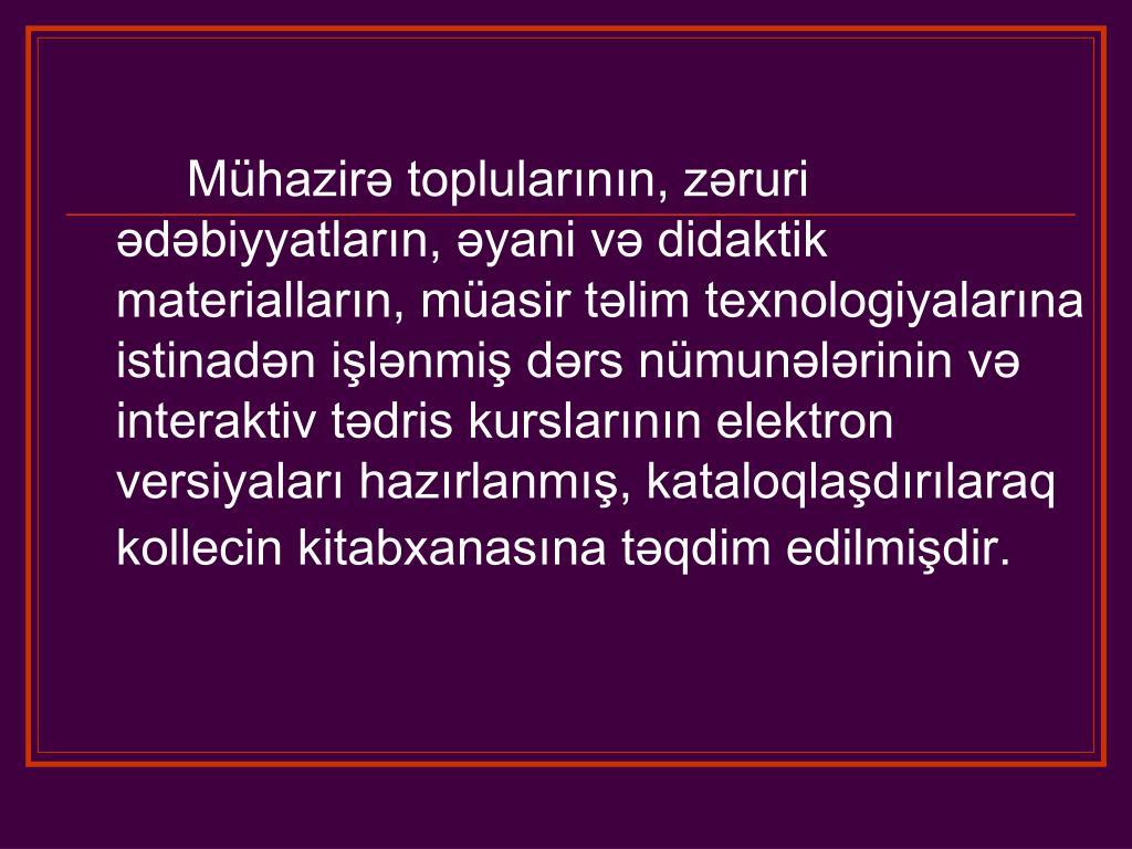 Ppt Azərbaycan Dovlət Pedaqoji Kolleci Powerpoint Presentation Free Download Id 3859702