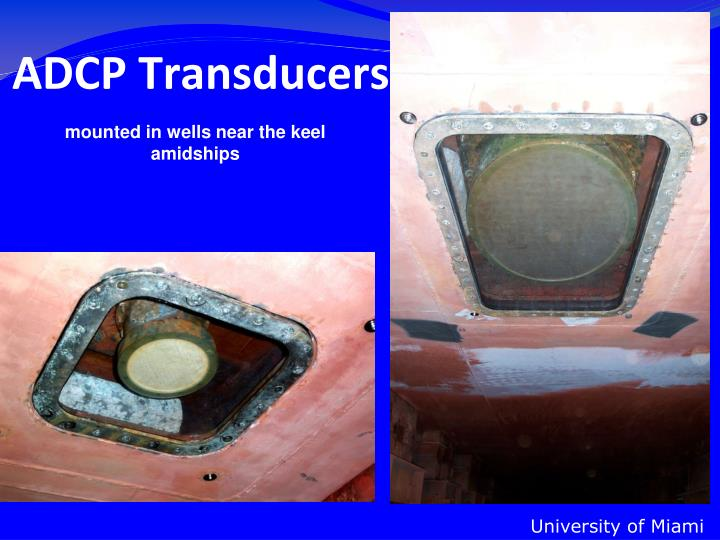 ADCP Transducers