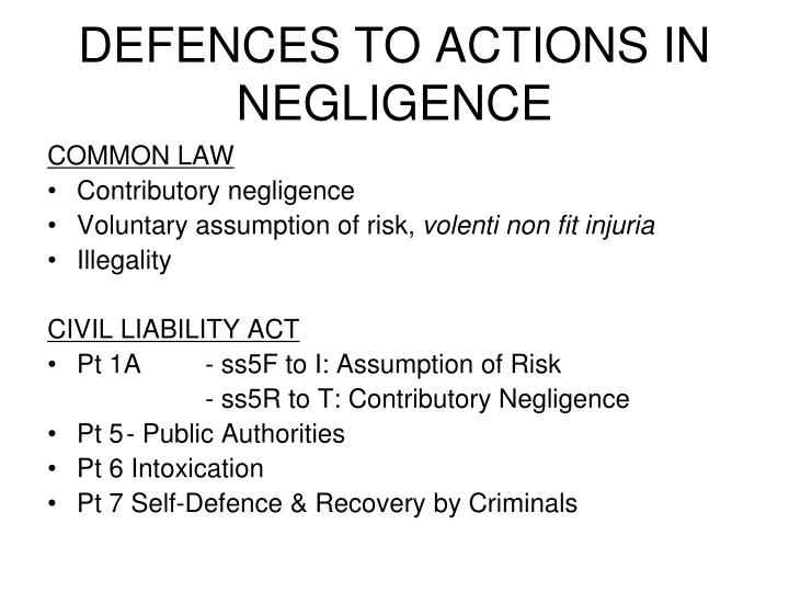 "contributory negligence Contributory negligence is a common defense used by a defendant in a negligence action essentially, contributory negligence is the defendant retorting to a plaintiff: ""you were negligent too."