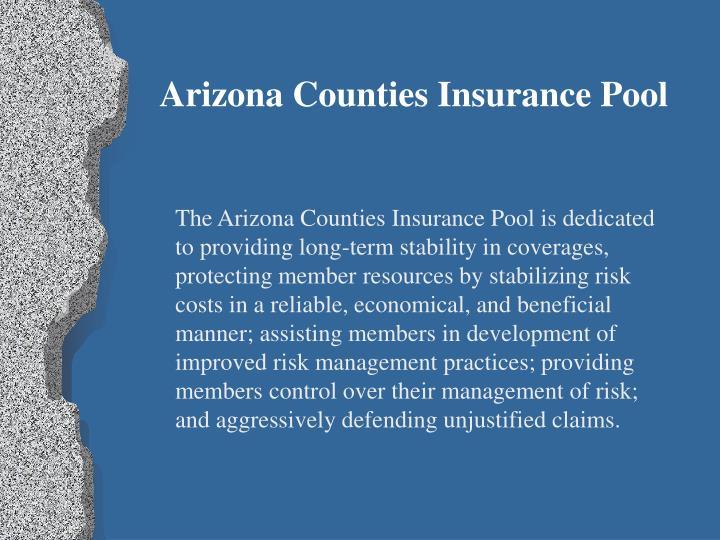 Arizona Counties Insurance Pool