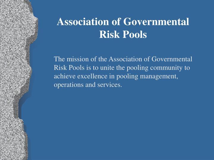 Association of Governmental