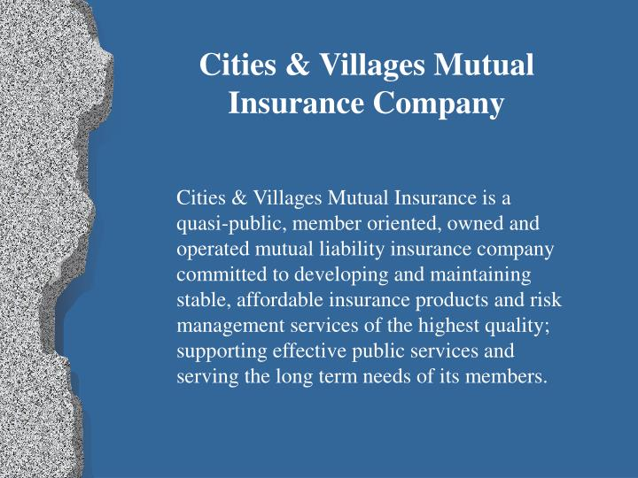 Cities & Villages Mutual
