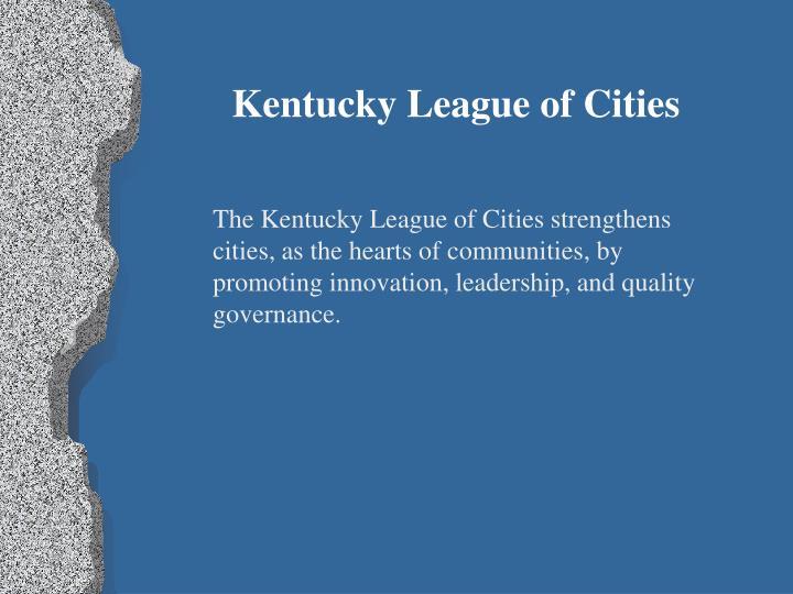 Kentucky League of Cities