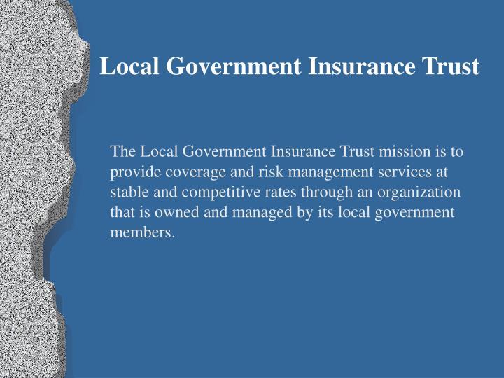 Local Government Insurance Trust