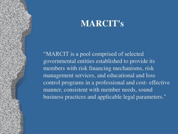 MARCIT's