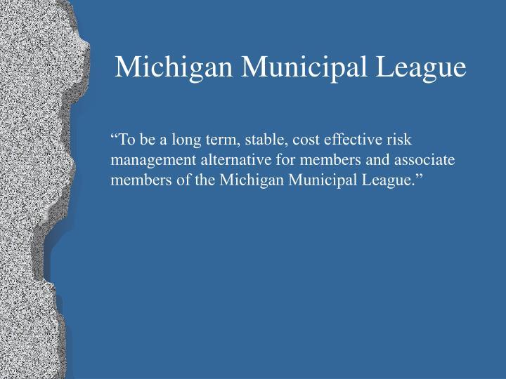 Michigan Municipal League