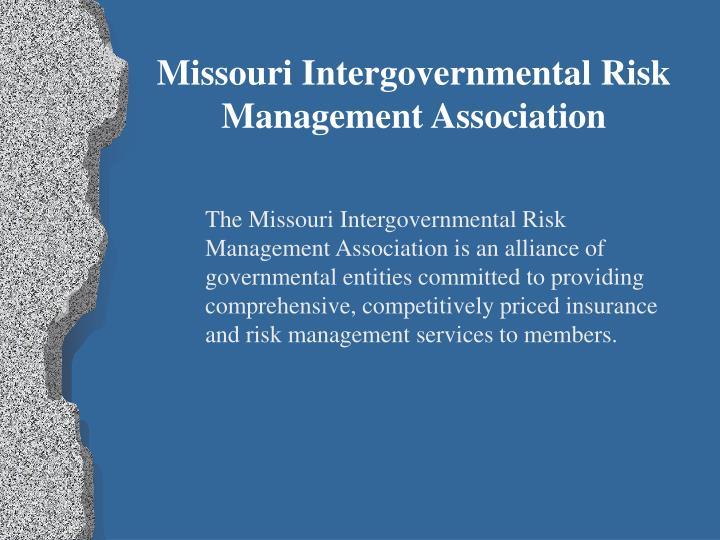 Missouri Intergovernmental Risk Management Association