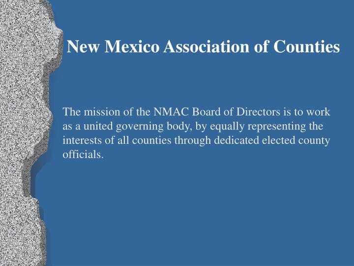 New Mexico Association of Counties