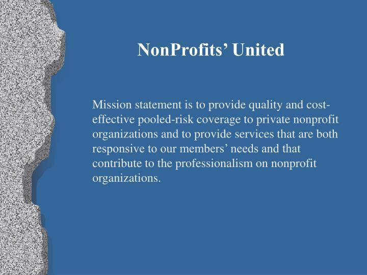 NonProfits' United