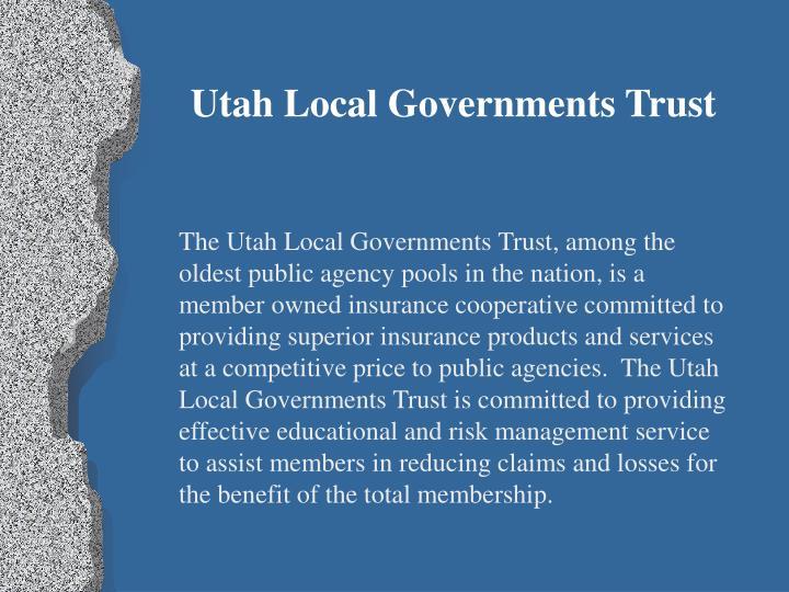 Utah Local Governments Trust