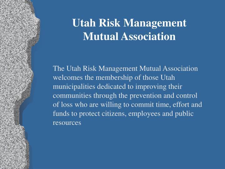 Utah Risk Management