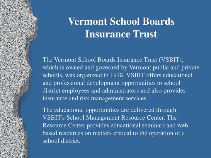 Vermont School Boards