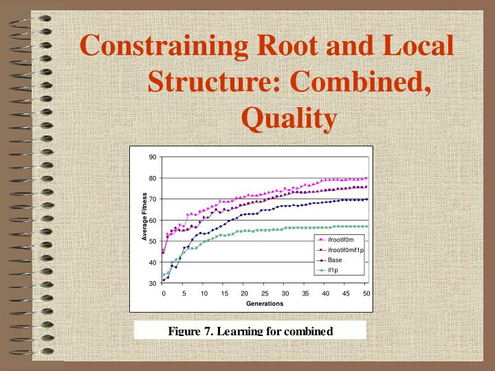 Constraining Root and Local Structure: Combined, Quality
