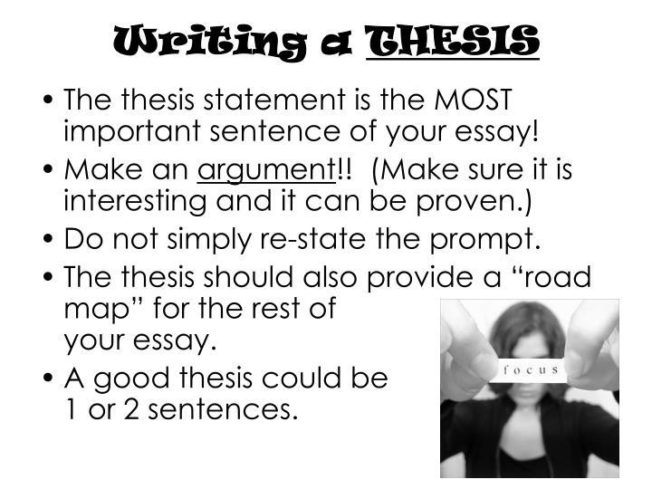 Writing a