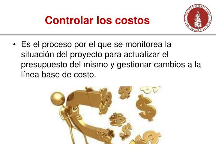 Controlar los costos