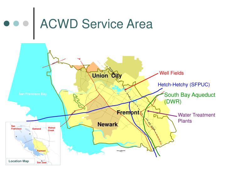 Acwd service area
