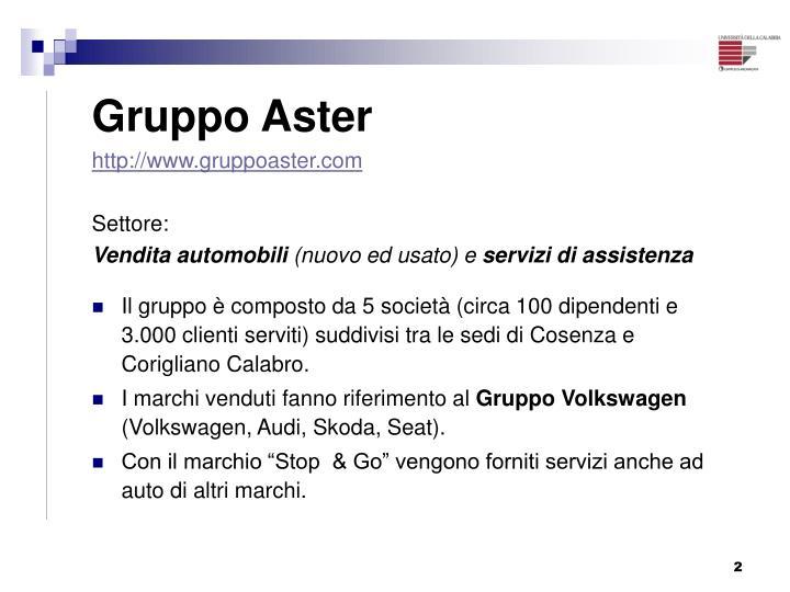 Gruppo Aster