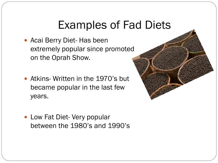 essay on fad dieting A fad diet mint be defined as a reducing diet that enjoys episodic popularity (wordnet) it is a lot common knowledge that fad diets exist in todays society, especially due to the growing fear related to the increase in the obesity pandemic in recent years.
