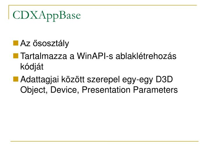 CDXAppBase