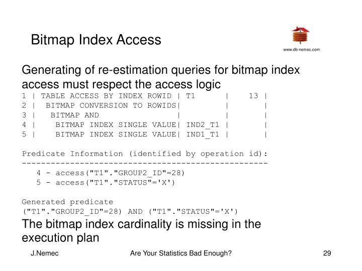 Bitmap Index Access