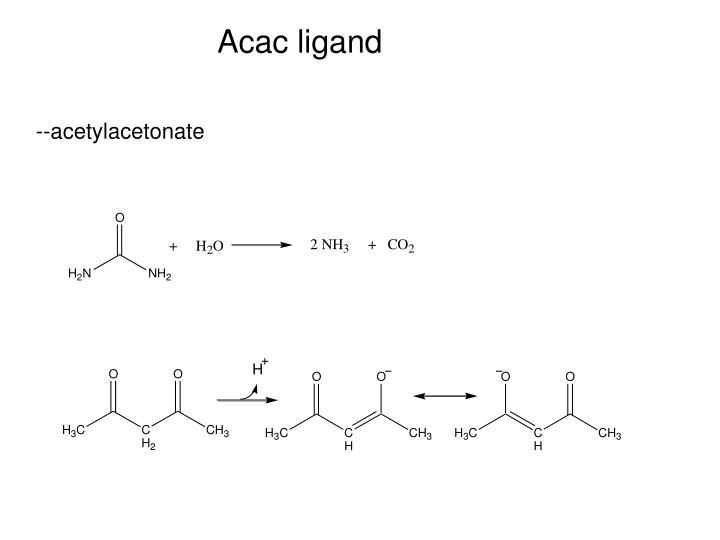 Acac ligand