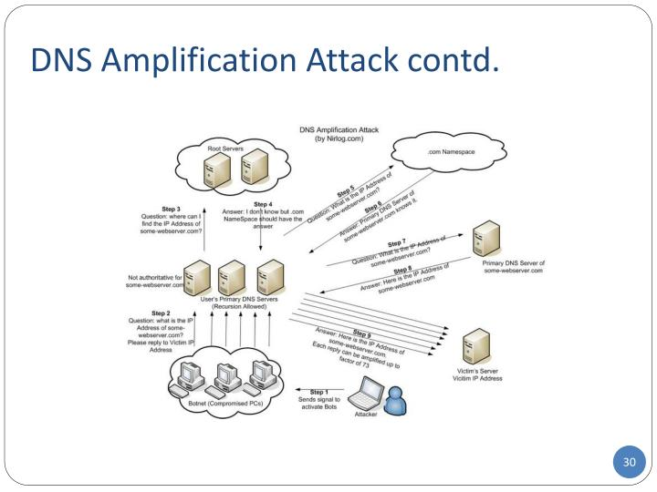 DNS Amplification Attack contd.