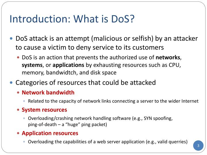 Introduction what is dos