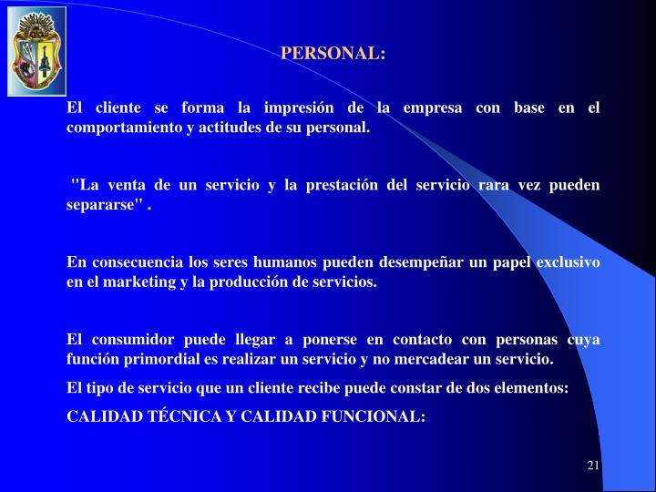 PERSONAL: