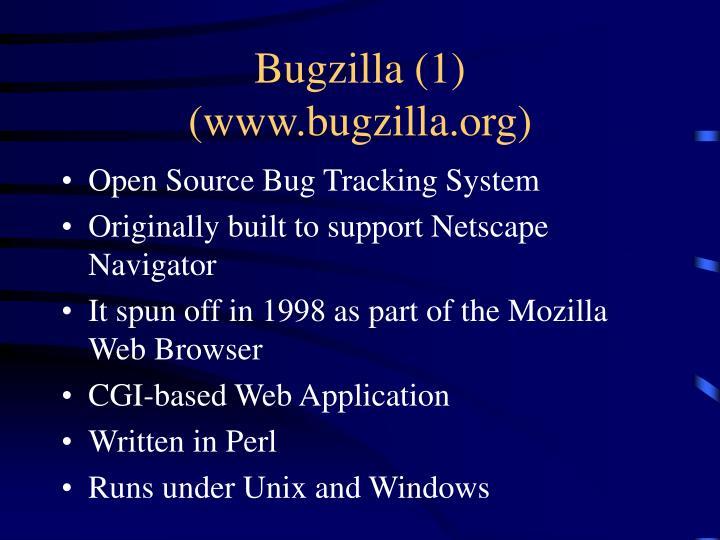 Bugzilla (1)