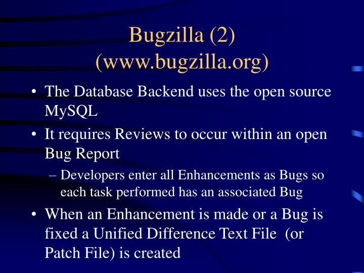 Bugzilla (2)