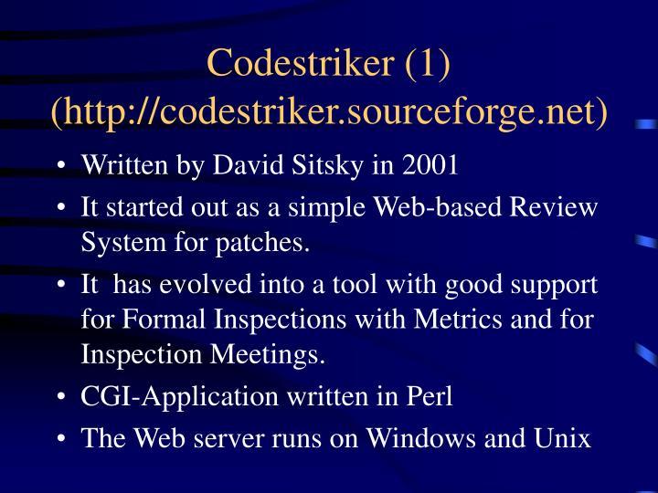 Codestriker (1)