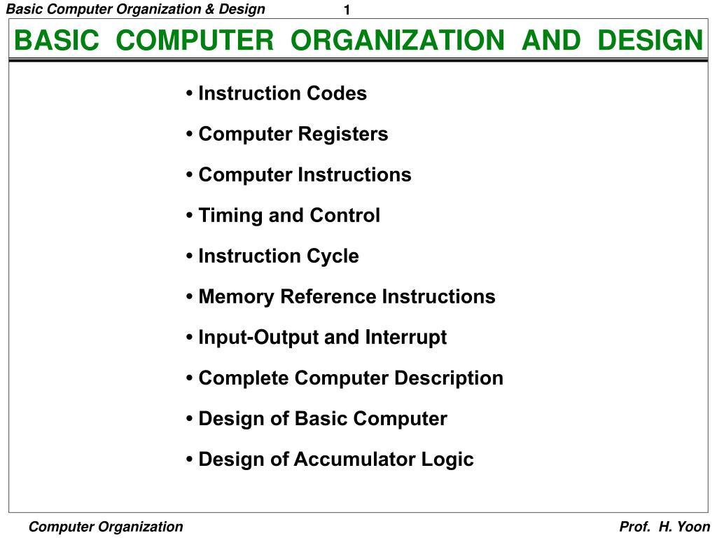 Ppt Basic Computer Organization And Design Powerpoint Presentation Csci 255 Flip Flops N