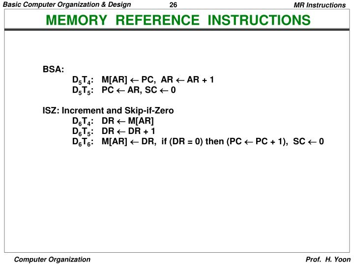 Ppt Basic Computer Organization And Design Powerpoint Presentation