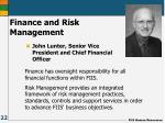 finance and risk management