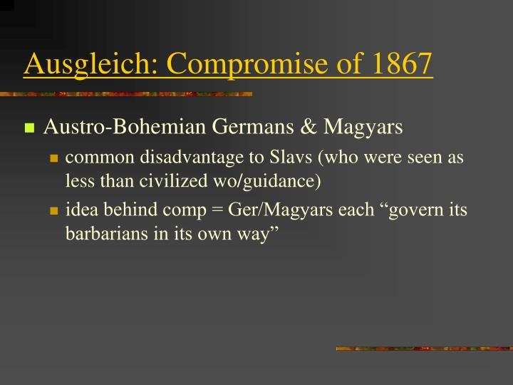 Ausgleich: Compromise of 1867