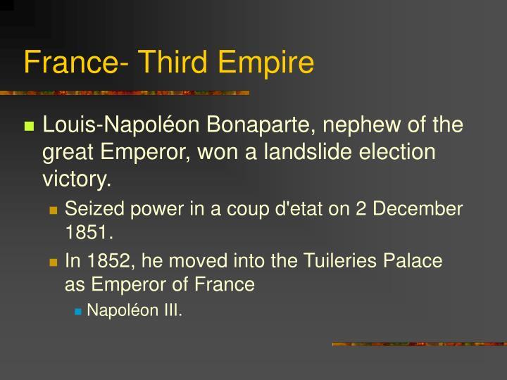 France- Third Empire