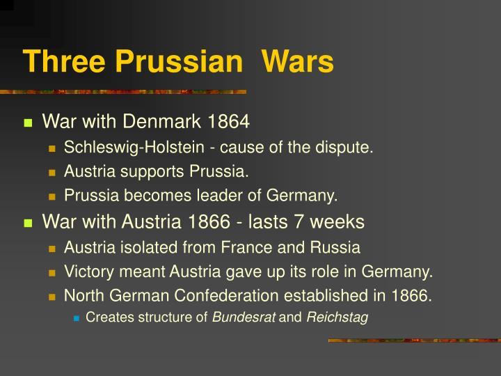 Three Prussian Wars