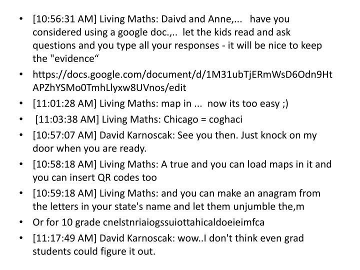 [10:56:31 AM] Living Maths: