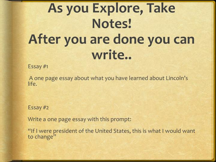 what would i do if i were president essay Hoover and roosevelt views on the great depression history essay print reference this published: 23rd march, 2015 disclaimer: this essay has been submitted by a.