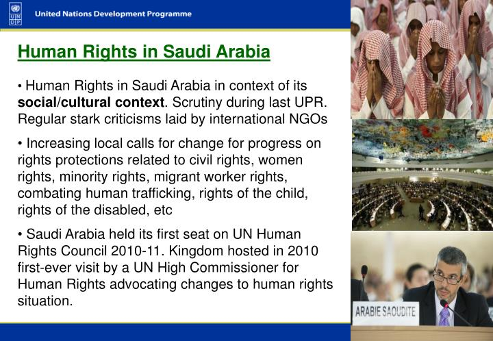 Human Rights in Saudi Arabia