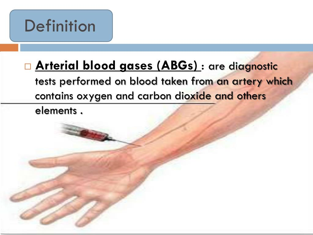 PPT - Arterial Blood Gases PowerPoint Presentation, free..