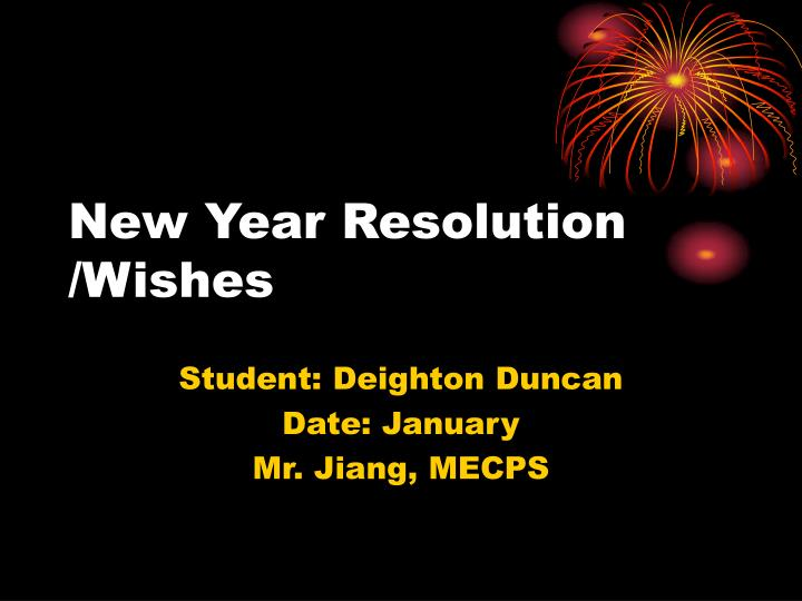 new year resolution wishes n.