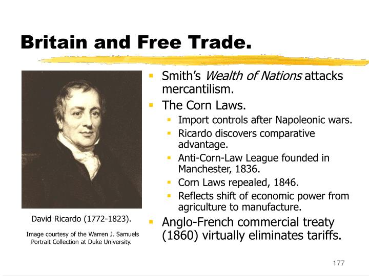 Britain and Free Trade.